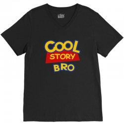 cool story bro V-Neck Tee | Artistshot