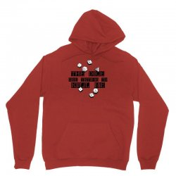 the dice are trying to kill me Unisex Hoodie   Artistshot