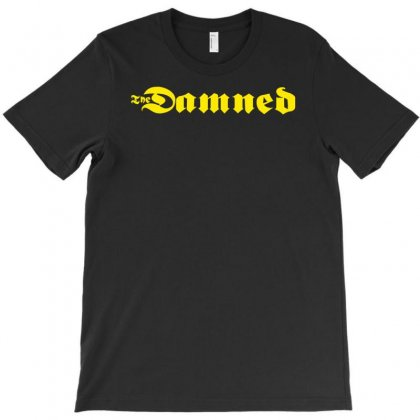 The Damned Punk T-shirt Designed By Permatasarisekar