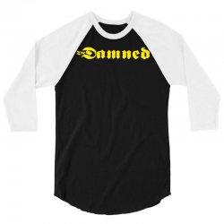 the damned punk 3/4 Sleeve Shirt   Artistshot