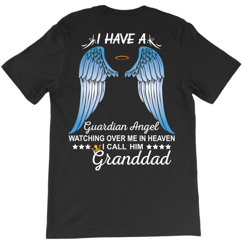My Granddad Is My Guardian Angel T-shirt   Artistshot