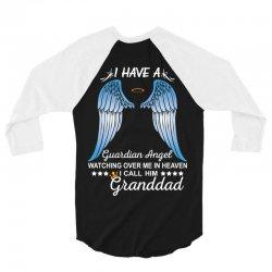 My Granddad Is My Guardian Angel 3/4 Sleeve Shirt   Artistshot