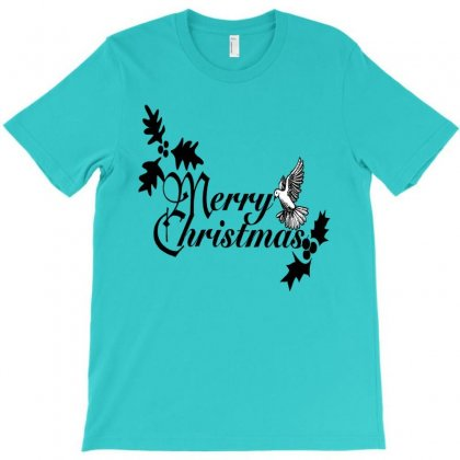 Merry Christmas T-shirt Designed By Defit45