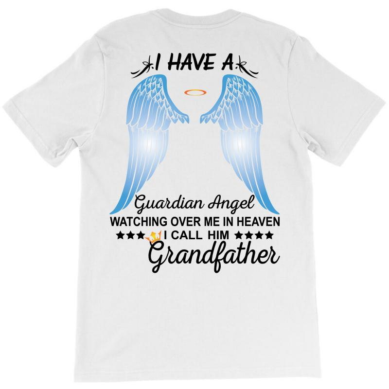 My Grandfather Is My Guardian Angel T-shirt | Artistshot