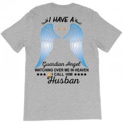 My Husband Is My Guardian Angel T-Shirt | Artistshot