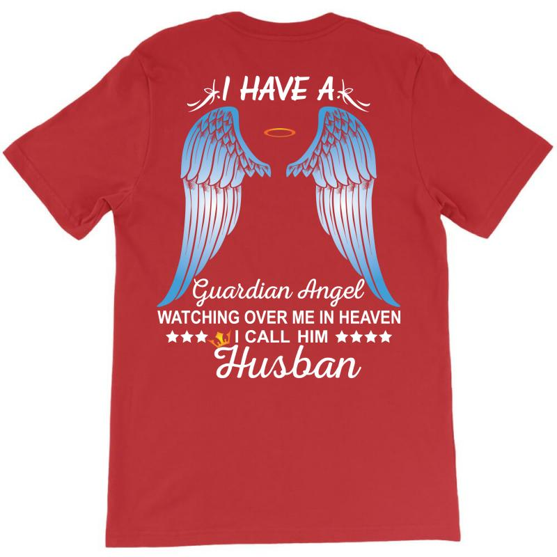 My Husband Is My Guardian Angel T-shirt | Artistshot