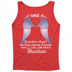 My Husband Is My Guardian Angel Tank Top | Artistshot