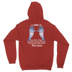 My Husband Is My Guardian Angel Unisex Hoodie | Artistshot
