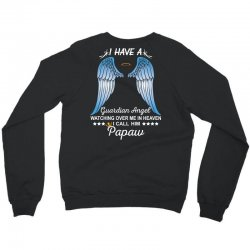 My Papaw Is My Guardian Angel Crewneck Sweatshirt | Artistshot