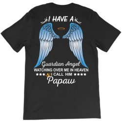 My Papaw Is My Guardian Angel T-Shirt | Artistshot