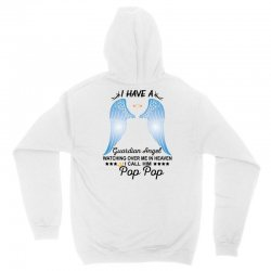 My Pop Pop Is My Guardian Angel Unisex Hoodie | Artistshot