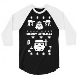 star wars christmas 4 3/4 Sleeve Shirt   Artistshot
