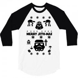 star wars christmas 3 3/4 Sleeve Shirt | Artistshot
