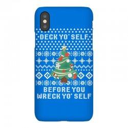 deck yo self before you wreck yo self iPhoneX Case | Artistshot