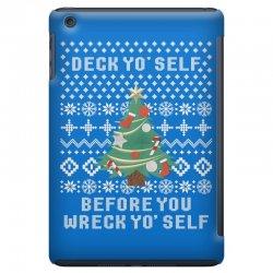 deck yo self before you wreck yo self iPad Mini Case | Artistshot
