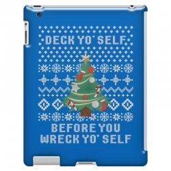 deck yo self before you wreck yo self iPad 3 and 4 Case | Artistshot