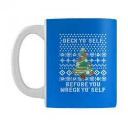 deck yo self before you wreck yo self Mug | Artistshot