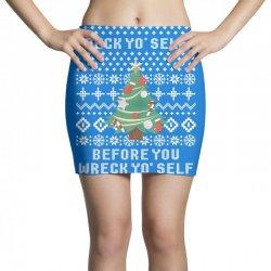 deck yo self before you wreck yo self Mini Skirts | Artistshot