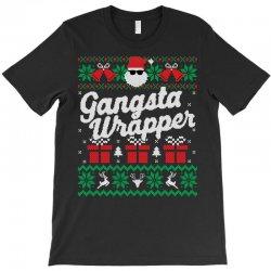 gansta wrapper ugly christmas sweater T-Shirt | Artistshot