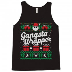 gansta wrapper ugly christmas sweater Tank Top | Artistshot