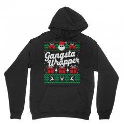 gansta wrapper ugly christmas sweater Unisex Hoodie | Artistshot