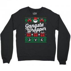 gansta wrapper ugly christmas sweater Crewneck Sweatshirt | Artistshot