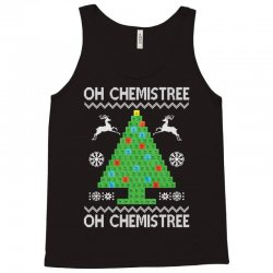Chemist Element Oh Chemistree Christmas Sweater Tank Top | Artistshot