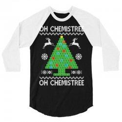 Chemist Element Oh Chemistree Christmas Sweater 3/4 Sleeve Shirt | Artistshot