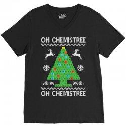 Chemist Element Oh Chemistree Christmas Sweater V-Neck Tee | Artistshot