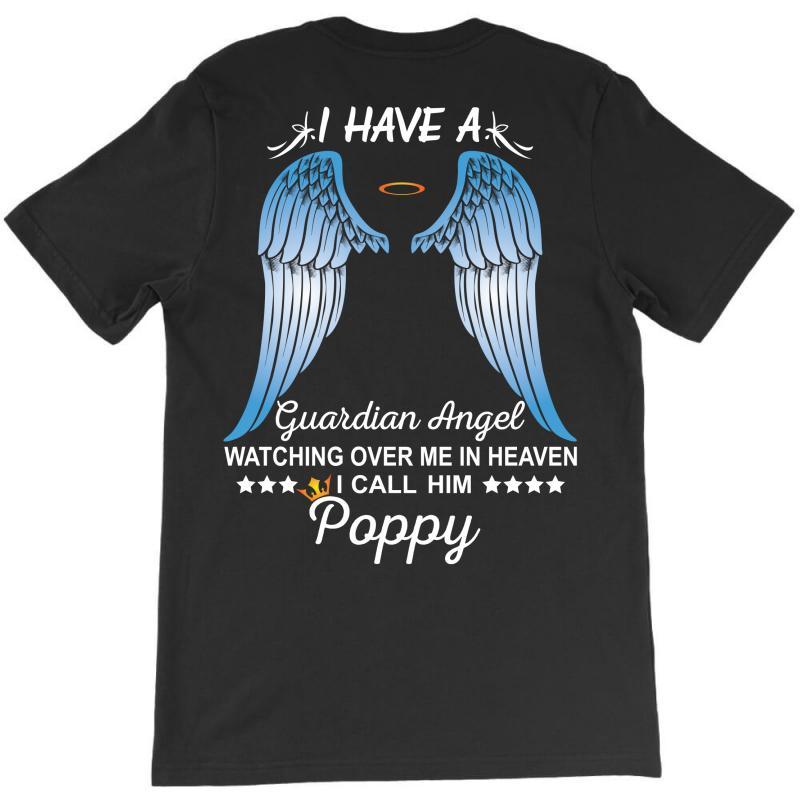 My Poppy Is My Guardian Angel T-shirt | Artistshot