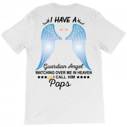 My Pops Is My Guardian Angel T-Shirt | Artistshot