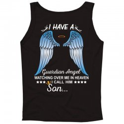My Son Is My Guardian Angel Tank Top | Artistshot