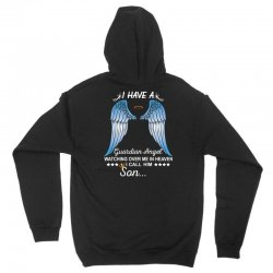 My Son Is My Guardian Angel Unisex Hoodie | Artistshot