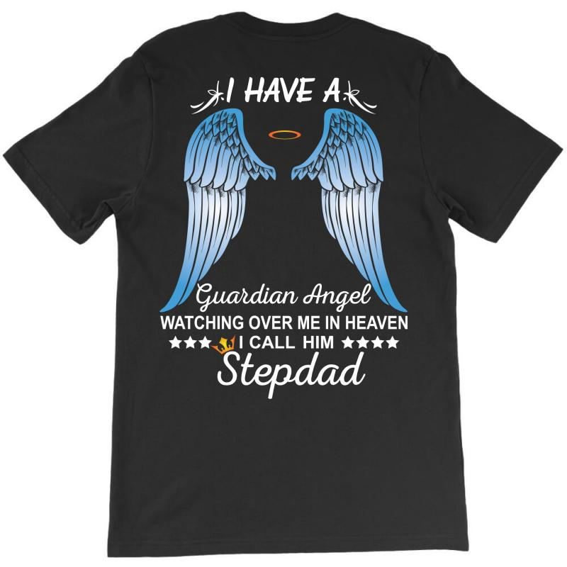 My Stepdad Is My Guardian Angel T-shirt | Artistshot