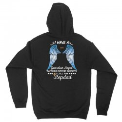 My Stepdad Is My Guardian Angel Unisex Hoodie | Artistshot