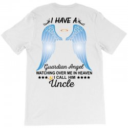 My Uncle Is My Guardian Angel T-Shirt   Artistshot