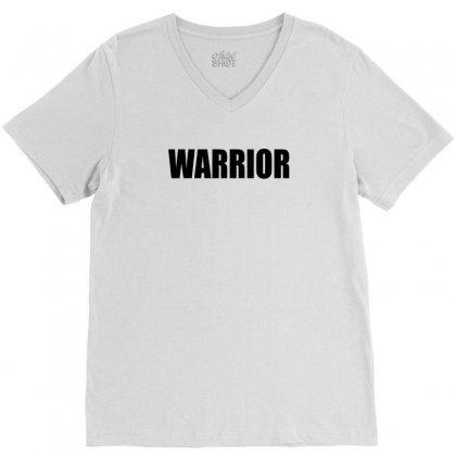 Warrior V-neck Tee Designed By Killakam