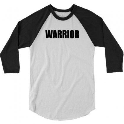 Warrior 3/4 Sleeve Shirt Designed By Killakam