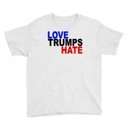 love trumps hate vote for hillary Youth Tee | Artistshot