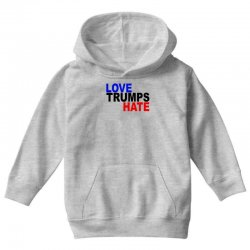 love trumps hate vote for hillary Youth Hoodie | Artistshot