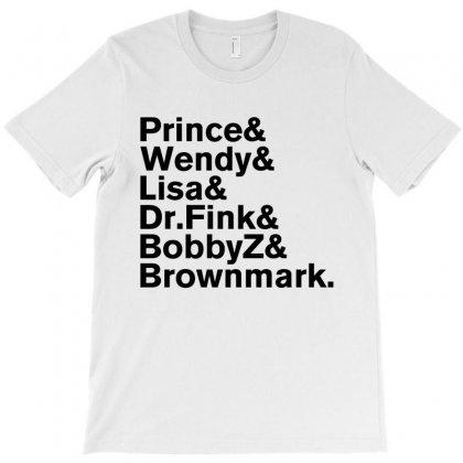 Prince & The Revolution 1984 Purple Rain Band T-shirt Designed By Rardesign