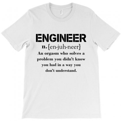 Engineer Definition Funny T-shirt T-shirt Designed By Rardesign