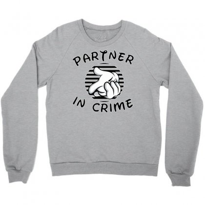 Partner In Crime Crewneck Sweatshirt Designed By Killakam