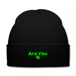are you irish Knit Cap | Artistshot