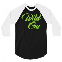 Wild One 3/4 Sleeve Shirt | Artistshot