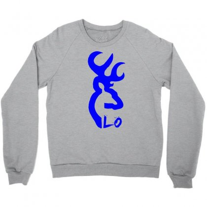 Browning Deer Love For Him Crewneck Sweatshirt Designed By Killakam