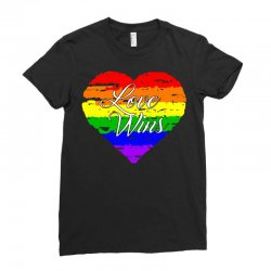 Love Wins One Pulse Orlando Strong Ladies Fitted T-Shirt | Artistshot