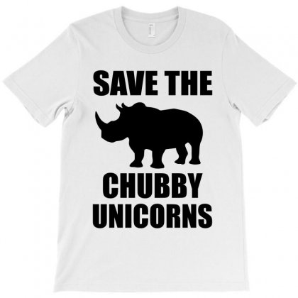 Save The Chubby Unicorn T-shirt Designed By Designbysebastian