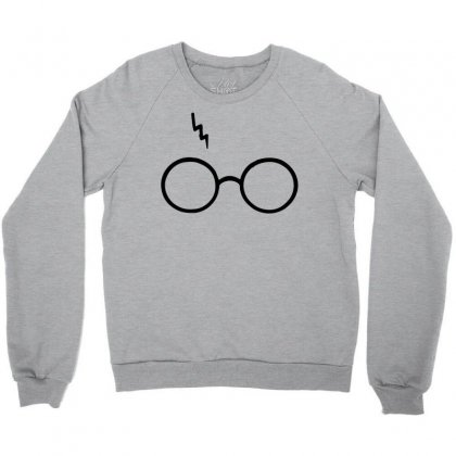 aba38bebc Harry Potter Lightning Glasses Crewneck Sweatshirt Designed By  Designbysebastian
