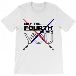 May The Fourth Be With You Lightsabers T-Shirt | Artistshot